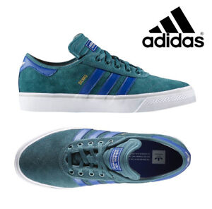 Adidas ADI EASE PREMIERE ADV Tech Green Collegiate Royal Sneakers BB8502 NEW