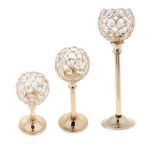 3-Height-Golden-Crystal-Tea-Light-Candle-Holder-Wedding-Candelabra