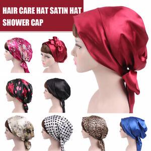 Women-Soft-Silk-Satin-Bonnet-Sleeping-Cap-Head-Scarf-Wide-Band-Head-Wrap-Cap