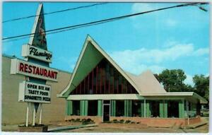 Details About Florence South Carolina Sc Roadside Flamingo Restaurant C1950s 60s Postcard