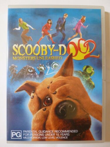 1 of 1 - Scooby-Doo 2: Monsters Unleashed [PG] (DVD, 2004, R4)