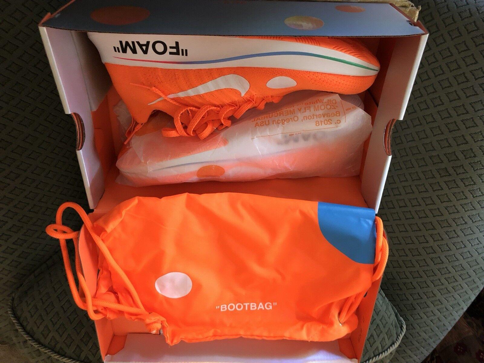 Nike Off White Fly Zoom orange
