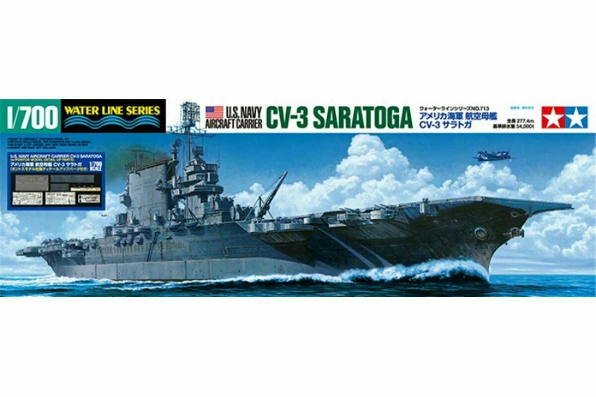 Tamiya 25179  1700 US Aircraft Vettore CV3 Saratoga WPontos Dettaglio Parti