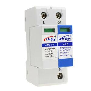 220V-20kA-AC-Power-Supply-Surge-Protector-Device-SPD-Lightning-Arrester