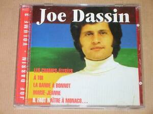 CD-JOE-DASSIN-VOL-3-DE-L-039-INTEGRALE-LES-CHAMPS-ELYSEES-TRES-BON-ETAT