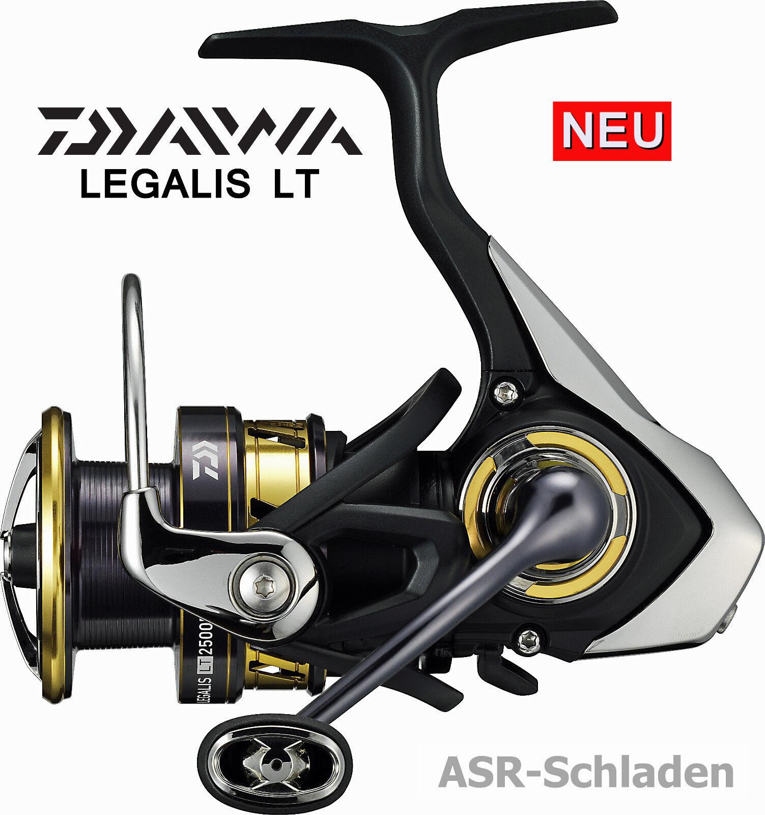 Daiwa Legalis LT - Neues LT Konzept - Leichte Spinrolle mit Air Rotor - Neu 2017