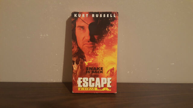 Escape From L.A vhs