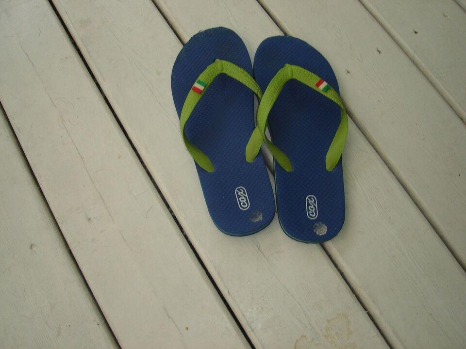 Sandaler, str. 38, blå
