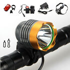 2500Lumen CREE XM-L T6 LED Headlight Headlamp Bicycle Bike Head Light Rear Lamp