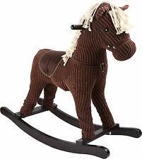 Cavallo a dondolo Animale Bambini con Rumore Giocattoli NUOVO