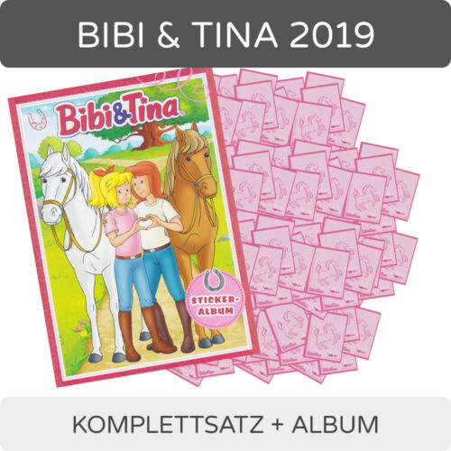Bibi /& Tina 2019-cromos-completamente frase Album