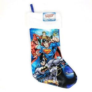 """SUPERMAN W// RED CAPE 18/"""" CHRISTMAS STOCKING HOLIDAY DECORATION NEW"""