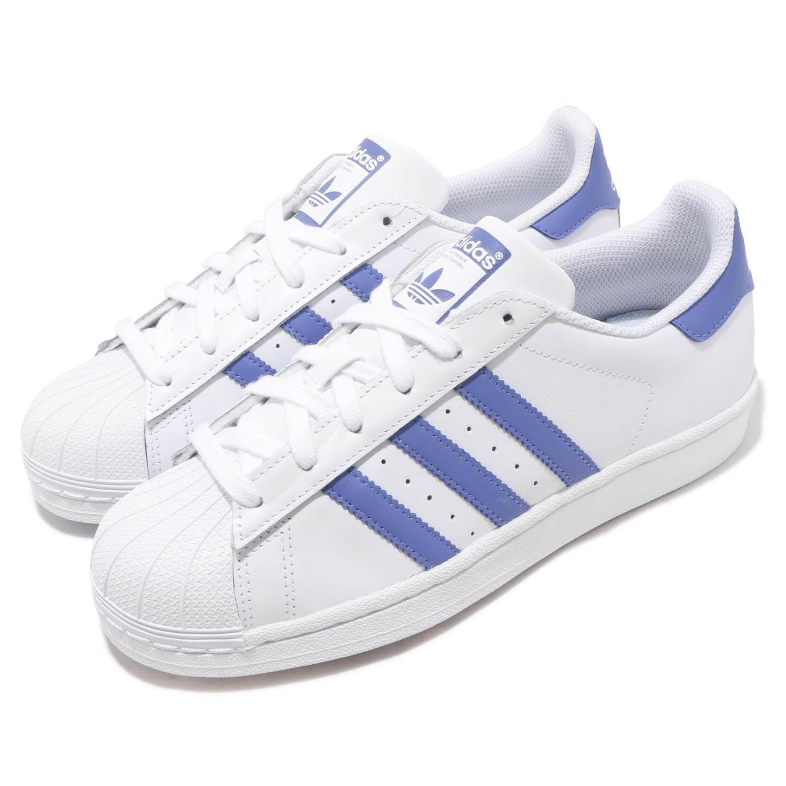 Adidas Originals Superstar Superstar Superstar White Purple Mens Womens Casual shoes Sneakers G27810 607061