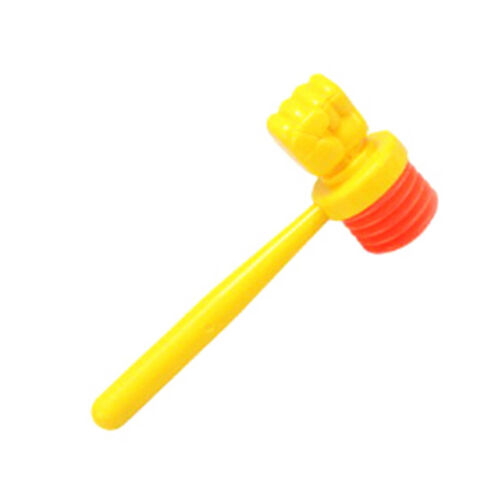 2pcs Plastic kids handle hammer hit hamster toy accessories baby gift toys  HDUK