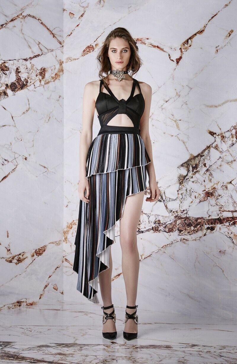 NWT Asilio Fluid Lines Dress AU sz L   12 or US sz 8 SOLD OUT  SEXY