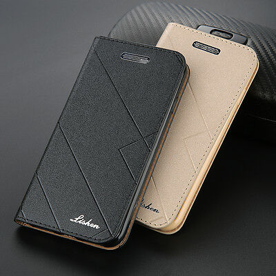 For Apple iPhone 6s 7 8 Plus Leather Flip Wallet Card Case Magnetic Stand Cover