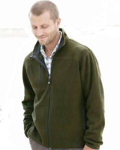 TIMBERLAND-Outdoors-NEW-Mens-Size-M-L-XL-2XL-Zip-MACRO-Fleece-Jacket-JUMPER-NAVY