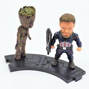 The-Lost-Groot-avec-Captain-America-Double-Set-Figure