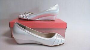 Image Is Loading Touch Ups Wedding Shoes White Honey US 8
