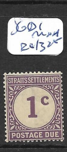 MALAYA STRAITS SETTLEMENTS (PP1001B) POSTAGE DUE 1C SG D1 MNH