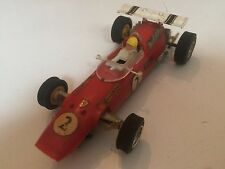Monoplaza automóvil de carrera Juguete Vintage Scalextric Power Trineo Modelo ranura de coche Zt