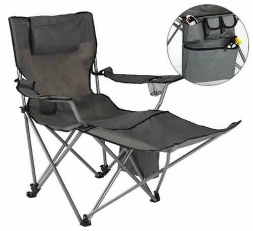 Regiestuhl Campingstuhl Klappstuhl Camping Strand Festival Stuhl mit Beinablage
