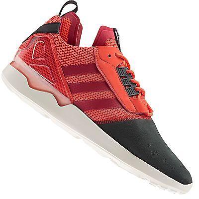 Adidas Originals Zx 8000 Boost Chaussures de Course Sport Rouge 41 13 UK 7,5   eBay