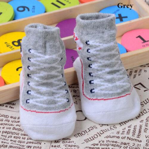 Newborn Baby Infant Toddler Crib Shoes Boy Girls Cute Warm Soft Sole Shoes Socks