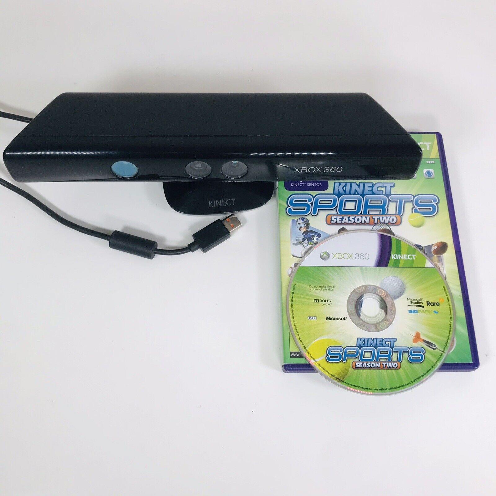Xbox 360 Kinect Bundle + 4x Games ~ Sports, Dance Central, Your Shape, Adventure