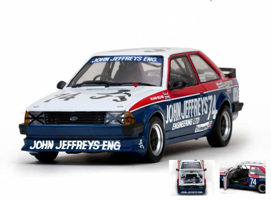 Ford escort mkiii rs 1600  74  british saloon voiture 1985 1 18 model 4965 sun star  le plus récent