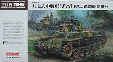 "FINE MOLDS® FM25 Imperial Japanese Army Main Battle Tank Type 97 ""CHI-HA"" 1:35"
