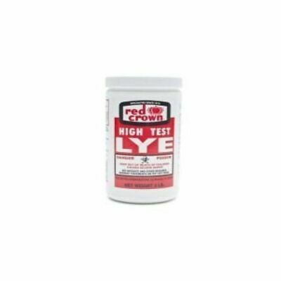 Packages Red Crown High Test Lye for Soap Making Case of 3-2 Lb