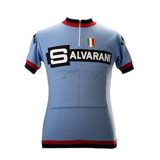 Salvarani Team 1967 Short Sleeve Vintage Jersey 100% Merino Wool
