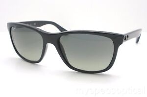 4d588275a0b Ray Ban RB 4181 601 71 57mm Black Grey New Authentic Made In Italy ...