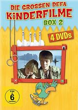 DEFA 4 KINDERFILME KLASSIKER BOX 2 Familie Wirbelwind INSEL DER SCHWÄNE DVD Neu