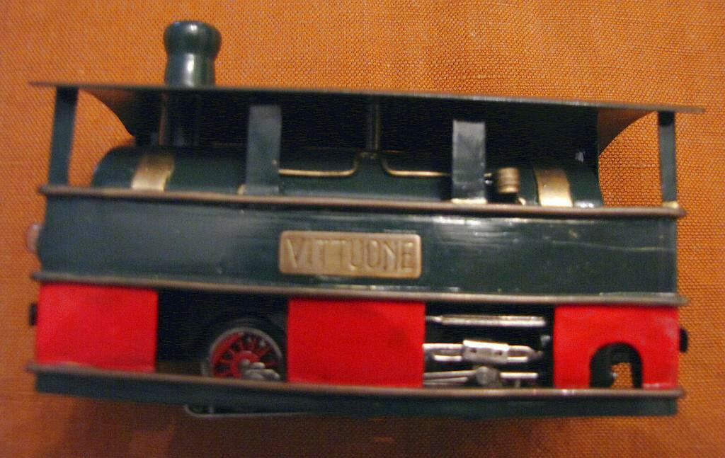 Trenino elettrico Milano Toy Train Gamba de Legn locomotiva HO made in germany