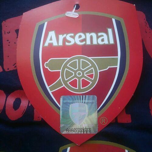 Arsenal Pyjamas Taille 5-6 ans Neuf Official Merchandise nouvelles balises.