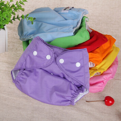 Ultra Breathable Baby Cloth Diapers Can Be Adjusted By The Urine Washable