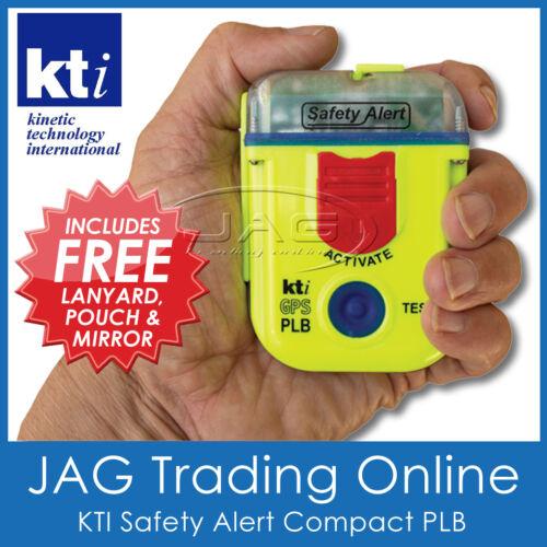 KTI Compact PLB 406MHz SAFETY ALERT SA2G GPS Marine Personal Beacon not EPIRB
