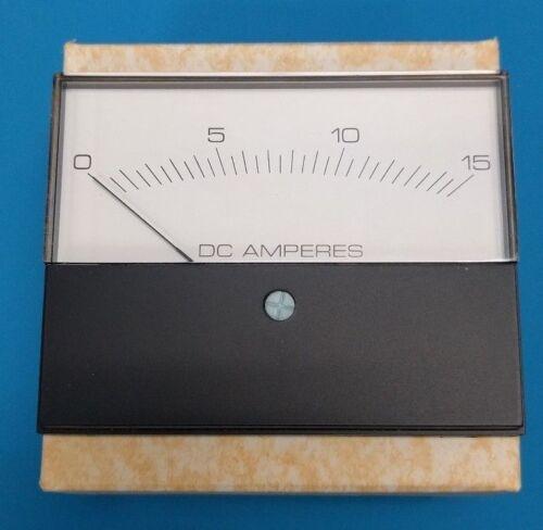 MODUTEC Panel Meter And Gauge 0-15 DC Amp Part Number 3S-DAA-015