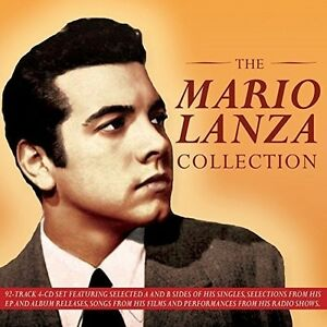 Mario-Lanza-Collection-4-DISC-SET-Mario-Lanza-2015-CD-NEUF