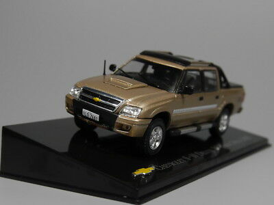 Chevrolet Collection 1//43 Diecast S-10 Deluxe 2.5 cabine dupla 2009 CHE013