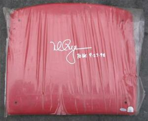 SIGNED-amp-Dated-70-HR-9-27-98-Mark-McGwire-Seat-Back-VERY-RARE-Steiner-COA