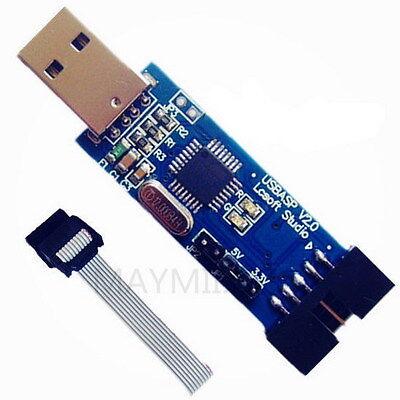 High Quality Hot  AVR Programmer USB ATMEGA8 1PCS USBasp USBISP 3.3V / 5V BQ