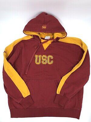 promo code 48ab7 babe0 Mens USC Majestic Trojans Hoodie Sweatshirt Size M NCAA Sports Football |  eBay