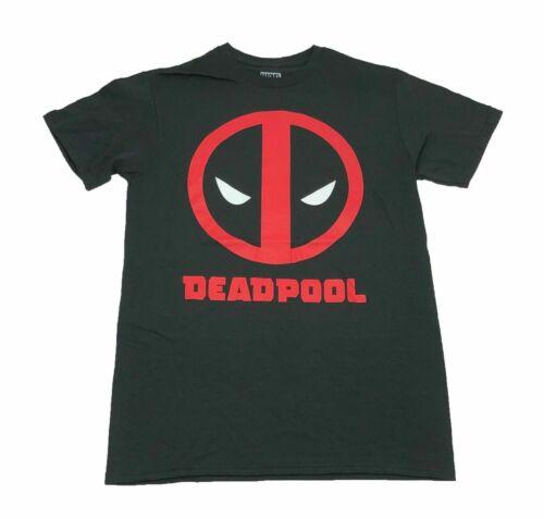 Marvel Comics Deadpool Big Icon Face Logo Men/'s T Shirt