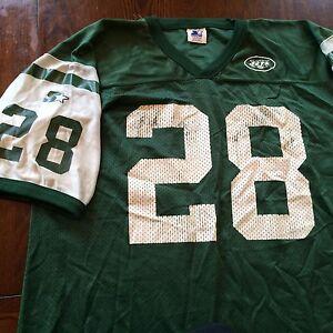d53d8d993d2 Vintage New York Jets #28 Curtis Martin NFL Starter Football Jersey ...