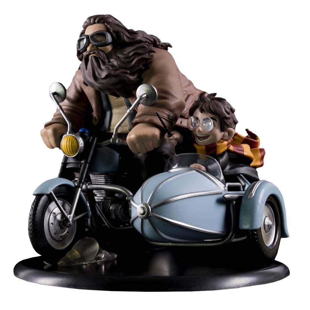 HARRY POTTER - Harry Potter & Rubeus Hagrid Q-Fig Max 6  x 7  Diorama (QMx)  NEW
