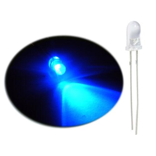 5mm 2 Beinchen rund blaue LED lichtemittierende Diode Lampe 1000 stk