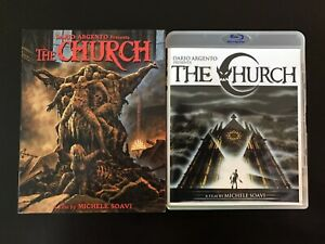 The-Church-Blu-Ray-Slipcover-Scorpion-Releasing-Limited-Edition-Rare-039-80s-Horror